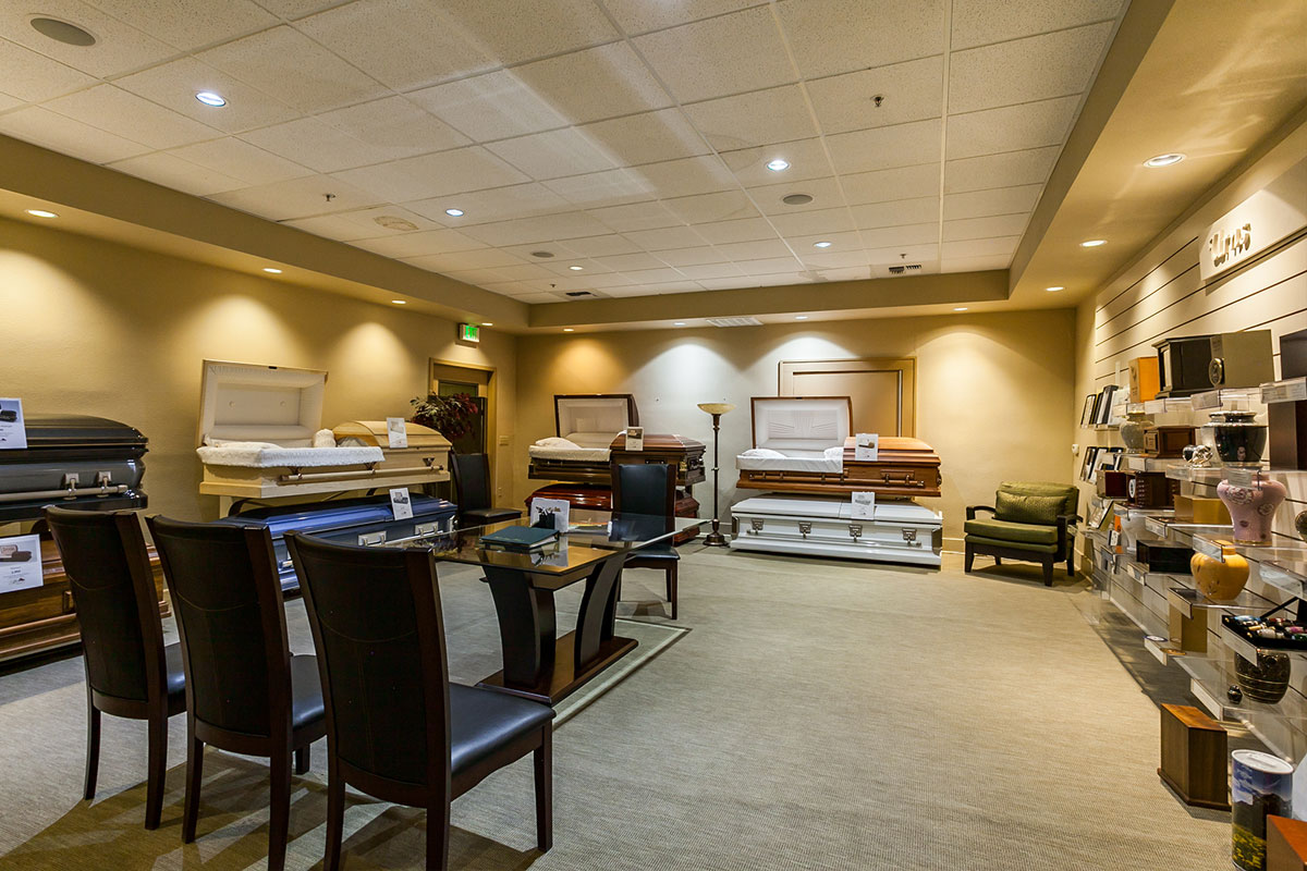 Allen Mortuary | Casket Display