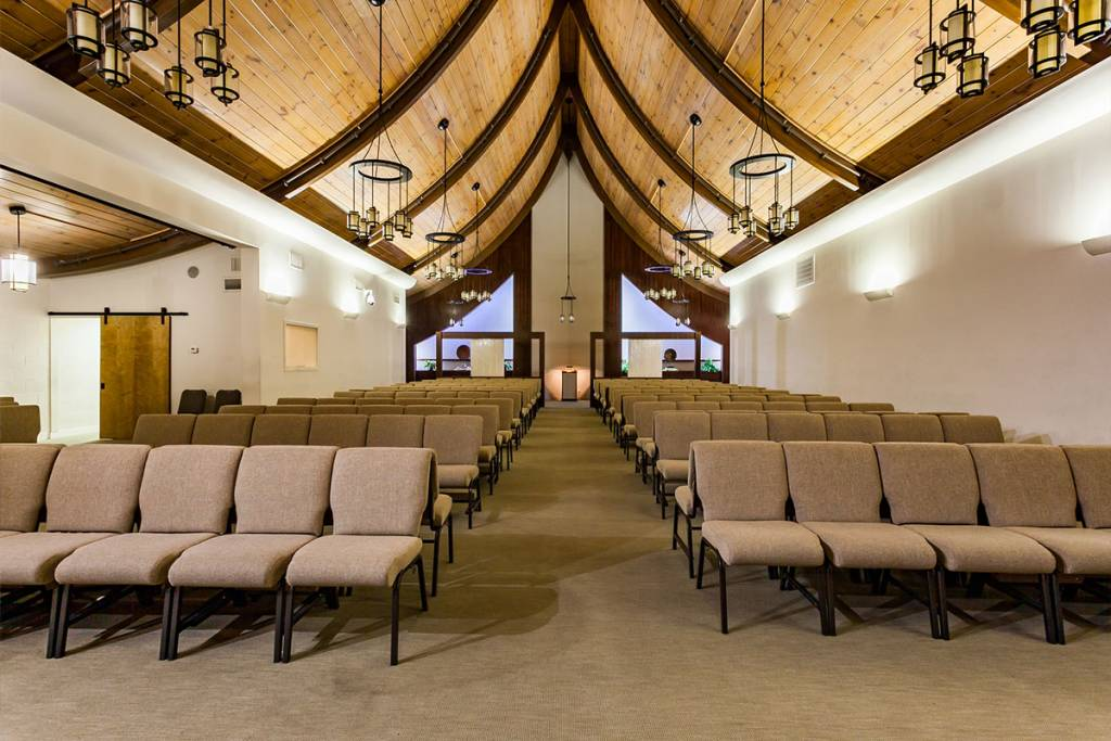Allen Mortuary | Main Chapel