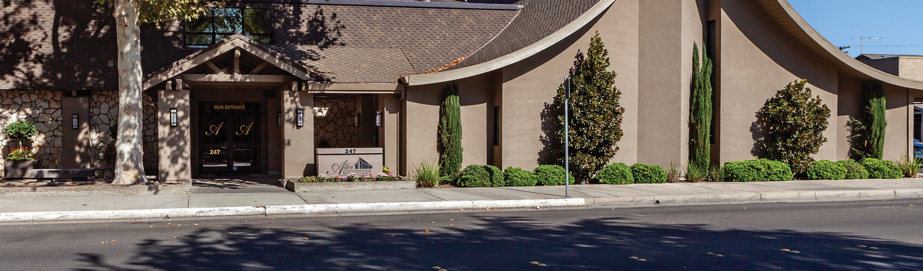 Allen Mortuary | Centrally located historic downtown Turlock, CA